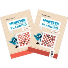 "Zestaw 2 części książki ""Monster Your Middlegame Planning"" - Efstratios Grivas (K-5659/kpl)"
