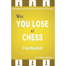 "Fred Reinfeld - ""Why You Lose at Chess""  (K-5203/a)"