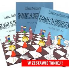 """Zestaw 3 książek """"Szachy w przedszkolu"""" (K-5337/z)"""