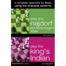 A Complete Repertoire for Black Using the Sharpest Systems - John Emms, Joe Gallagher (K-5420)