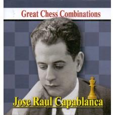 A. Kalinin - Jose Raul Capablanca - Great Chess Combinations - format kieszonkowy 8.5 x 9 cm (K-5729)