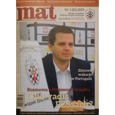"Czasopismo szachowe ""Mat"" nr 1/ 2019 (81) (C-011)"
