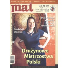 "Czasopismo Szachowe ""Mat"" nr 8 / 2017 (72) (C-003)"