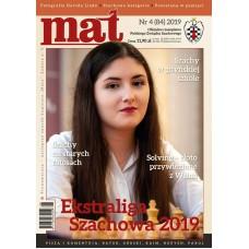 "Czasopismo szachowe ""Mat"" nr 4 / 2019 (84) (C-015)"