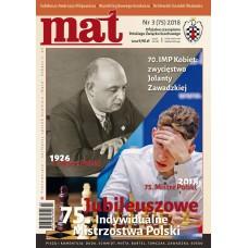 "Czasopismo szachowe ""Mat"" nr 3/ 2018 (75) (C-007)"