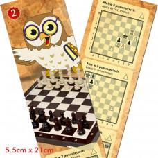 Zakładka do książki z zadaniami szachowymi cz. 2 (A-113)