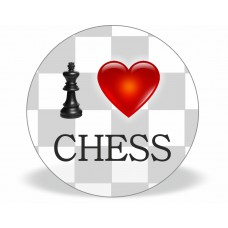 "Magnes ""I LOVE CHESS""  (A-84)"