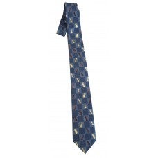 Krawat z motywem szachowym (A-90)