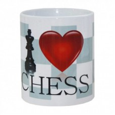 Kubek I LOVE CHESS ( A-55 )