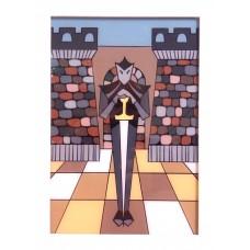 Obrazek szachowy w ramce (A-97/1)