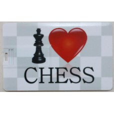 Karta pamięci USB I Love Chess 8 GB ( A-56 )