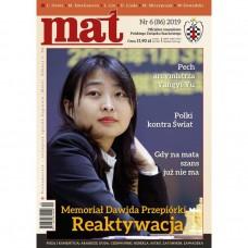 "Czasopismo szachowe ""Mat"" nr 6 / 2019 (86) (C-018)"