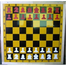 Figury szachowe, magnetyczne do szachownicy demonstracyjnej (S-78)