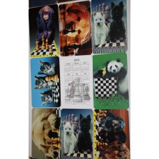Kalendarzyk szachowy 2017 ( A-35/k )