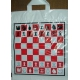 Torba reklamowa z akcentem szachowym (A-44)