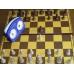 6x Zestaw Klubowy Profi III: Zegar Hetman + Staunton nr 5 w woreczku + Szachownica tekturowa (ZK-1)