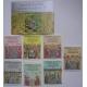 Laos 1984. Blok + 7 znaczków ( ZN-13 )