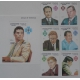 Cambodge 1996. Blok + 6 znaczków ( ZN-16 )