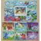 Mongolia 1999. Blok + 6 znaczków ( ZN-32 )