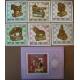Mongolia 1981. Blok + 6 znaczków. ( ZN-5 )