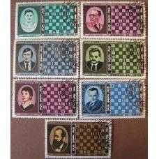 Mongolia 1986. Seria 7 znaczków. ( ZN-7/k )