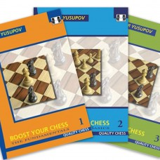 Artur Jusupow - Boost Your Chess - Zestaw 1-3 (K-2258/set)
