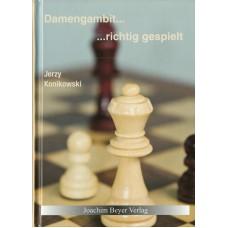 "J. Konikowski ""Damengambit ... richtig gespielt"" (K-5026)"