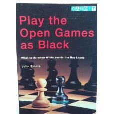 "Emms J. ""Play the open games as black"" (K-3456/bl)"