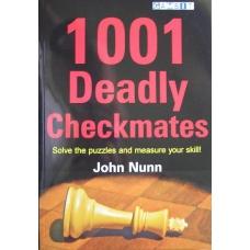 """Nunn J. """"1001 śmiertelnych matów"""" ( K-3407 )"""