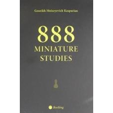 """G.M.Kasparian """" 888 studiów miniatur """" ( K-3480 )"""