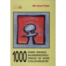 """GM Jozsef Pinter """" 1000 końcówek pionowych"""" ( K-350 )"""