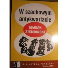 """M. Ziembiński """"W szachowym antykwariacie"""" (K-496)"""