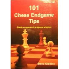 """Giddins Steve """"101 Chess Endgame Tips"""" (K-760)"""
