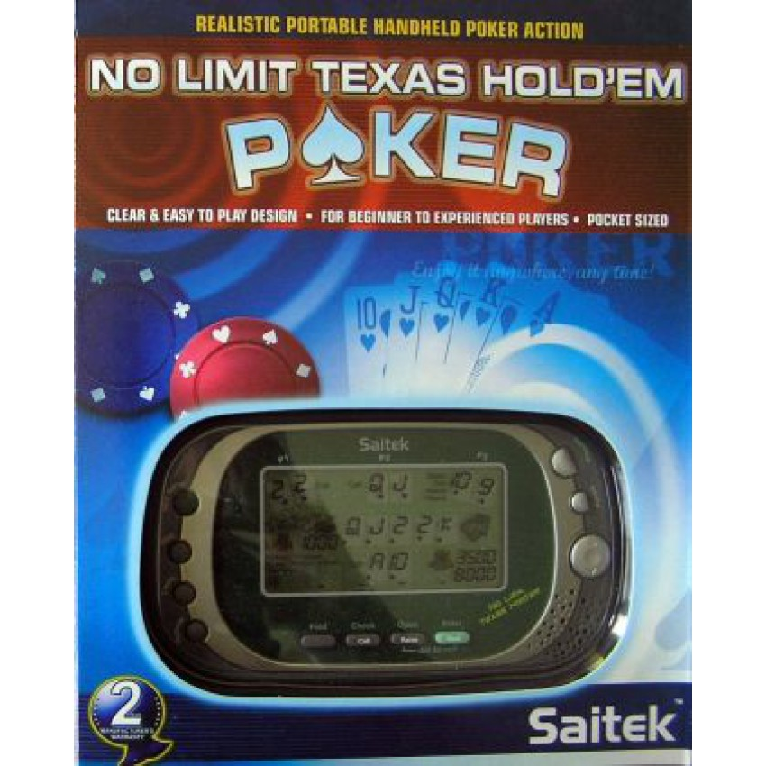 Texas holdem electronic table