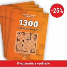10x R. Czajkowski, A. Nowicki - 1300 kombinacji matowych (K-5648/10)