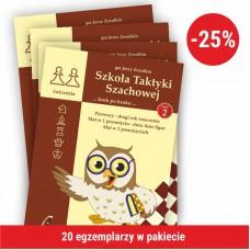 """20 x gm J. Zezulkin, """"Szkoła Taktyki Szachowej 2 (II wydanie). Pierwszy - drugi rok  nauczania"""" ( K-3685/2/20)"""