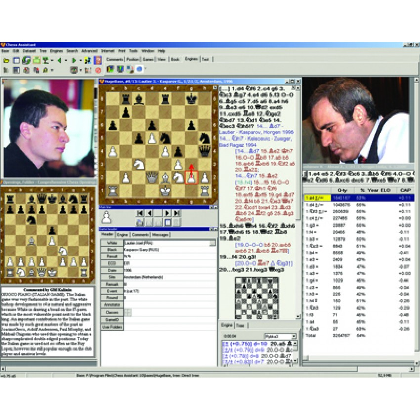 Chess Assistant 18 PRO z Houdini 6 PRO (P-0035)