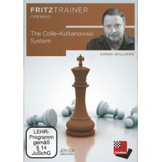 Simon Williams: The Colle-Koltanowski System: FritzTrainer Opening (P-0050)