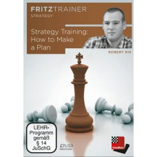 Robert Ris: How to Make a Plan: FritzTrainer Strategy (P-0052)