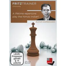 Rustam Kasimdzhanov - A lifetime repertoire: Play the Nimzo Indian (P-0062)