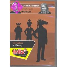 """Obrona Grunfelda"" GM Thomas Luther i Eva Moser płyta DVD ( P-102)"