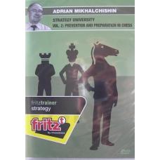 """A.Michalczyszyn """"Uniwersytet Strategii -zapobieganie i przygotowanie w szachach"""" ( P-490 )"""