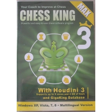 Chess King Max ( with Houdini 3 ) ( P-500 )