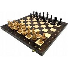 Szachy turniejowe składane nr 6 / Czereśniowe (S-219)
