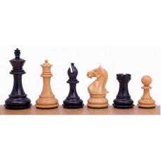 Figury szachowe Supreme - Rzeźbione czarne (S-222)