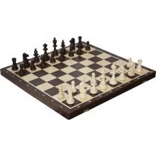 Szachy turniejowe składane nr 6 wenge intarsja (S-16/wenge)