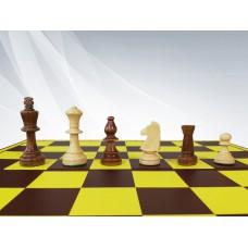 Figury szachowe Staunton nr 5/s w worku (S-182)