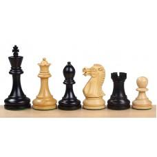 Figury szachowe Executive Akacja indyjska/Bukszpan / CZARNE (S-210/cz)