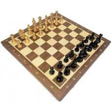 Szachy turniejowe składane nr 5 / Czereśniowe (S-219)