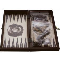 Zestaw Szachy + Warcaby + Backgammon zestaw 27x27cm (O-0001/M)